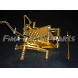 YZF R1 04-14 FiMA Fußrastenanlage Gold Yamaha