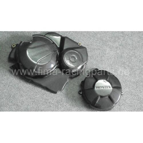 Carbon-Motorschutz komplett CBR600 07-15
