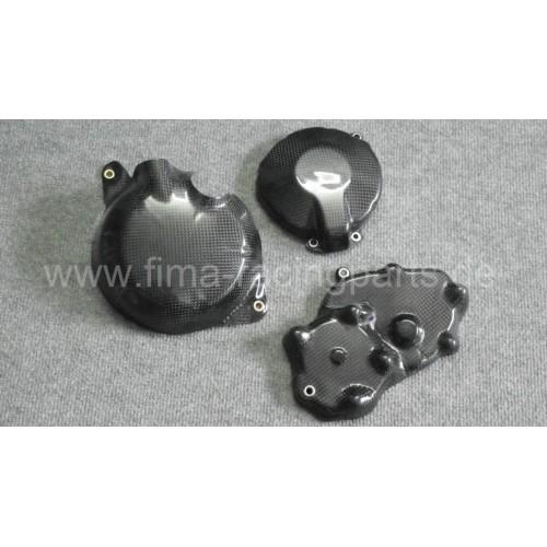 Carbon-Motorschutz komplett ZX6 R 09-15
