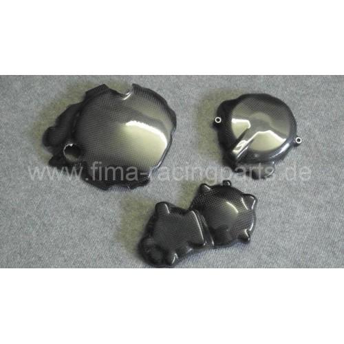 Carbon-Motorschutz komplett GSXR 600/750 04-05