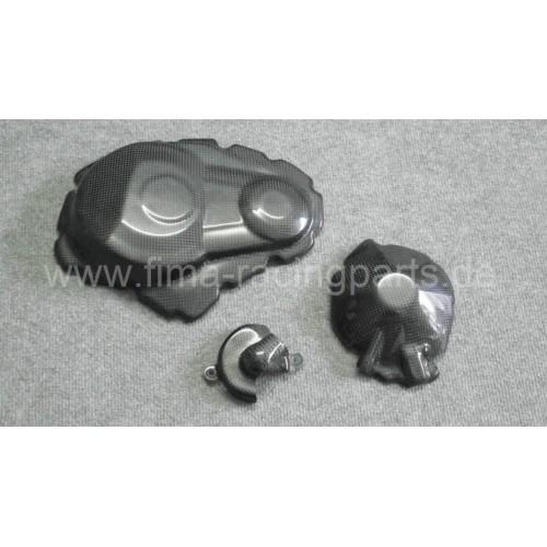 Carbon-Motorschutz komplett GSXR 1000 09-15 mit Wasserpumpendeckel