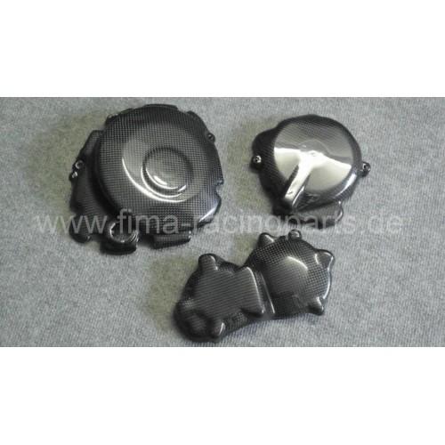 Carbon-Motorschutz komplett GSXR 1000 05-08