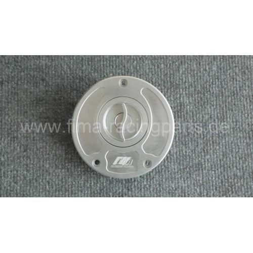 Tankdeckel Kawasaki Silber