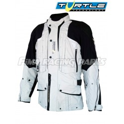 Allwetter Textiljacke TOURING B, grau Helite