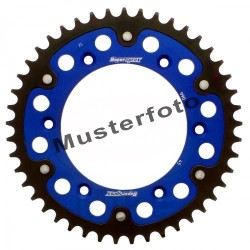 Stealth-Kettenrad Supersprox 530 - 43Z (blau)