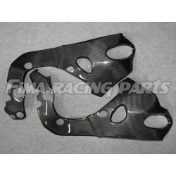 CBR 1000 08-17 frame protection Carbon Honda