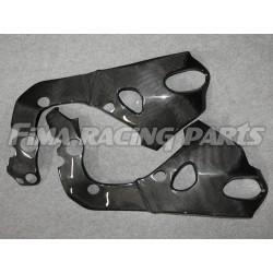 CBR 1000 08-17 frame protection Carbon Honda