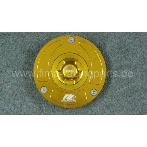 Tankdeckel Aprilia RSV 4 / gold