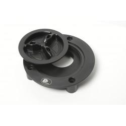 Tankdeckel Yamaha / silber-schwarz