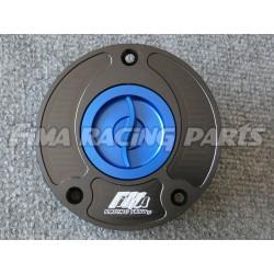 Tankdeckel Suzuki 3 Bolts schwarz/blau