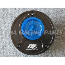 Tankdeckel Yamaha schwarz/blau