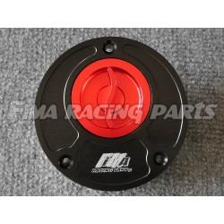 Tankdeckel Yamaha schwarz/rot