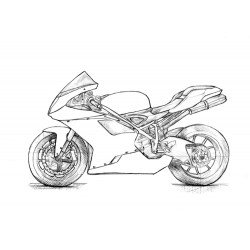 Design 000 Lackierbeispiel Ducati