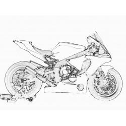 Design 001 Lackierbeispiel Yamaha