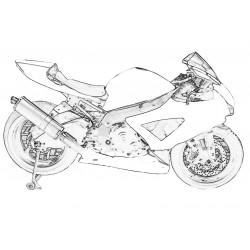 Design 000 Lackierbeispiel für Suzuki