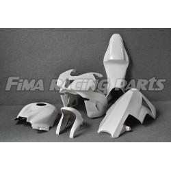 CBR 600 RR 07-08 Premium GFK lackiert Rennverkleidung für Honda