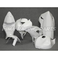 ZX-6R 09-12 Premium GFK painted racing fairing Kawasaki