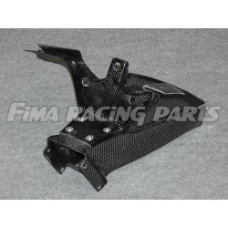R6 08-12 air duct with holder Carbon Yamaha