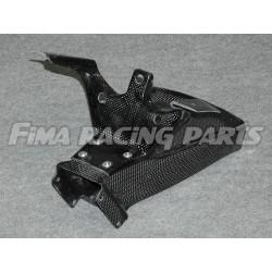 R6 17 Luftkanal mit Halter Carbon Yamaha
