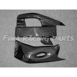 CBR 1000 17 swingarm protection Carbon Honda