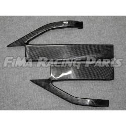 GSX-R 600 / 750 04-05 swingarm protection Carbon Suzuki