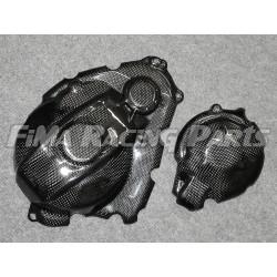 GSX-R 1000 17- Motorschutz komplett Carbon Suzuki