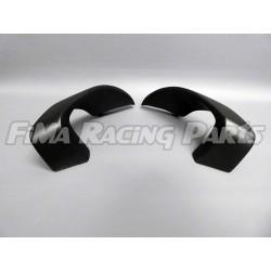 R1 2020 Winglets GFK schwarz matt lackiert für Yamaha