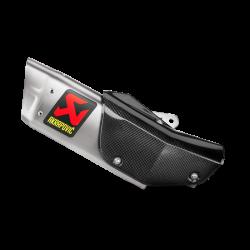 Slip-On Line (Titanium) YZF R1 04-06 Akrapovic Auspuffanlage Triumph
