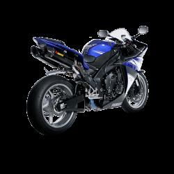 Racing Line (Carbon) YZF R1 09-14 Akrapovic Auspuffanlage Yamaha