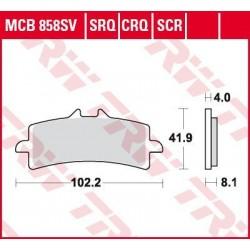 Bremsbelag vorne MCB 858CRQ TRW Lucas BMW