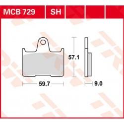 Bremsbelag hinten MCB 729SH TRW Lucas Suzuki